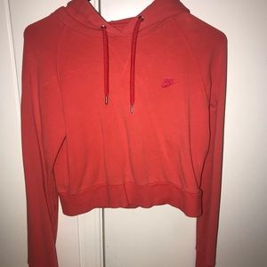 Tops - Nike crop sweatshirt